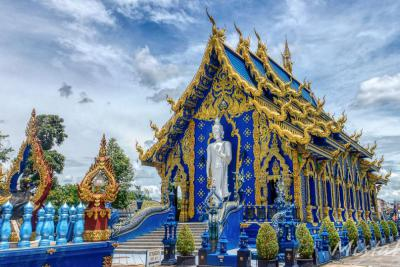 The Blue Temple in Chiang Rai