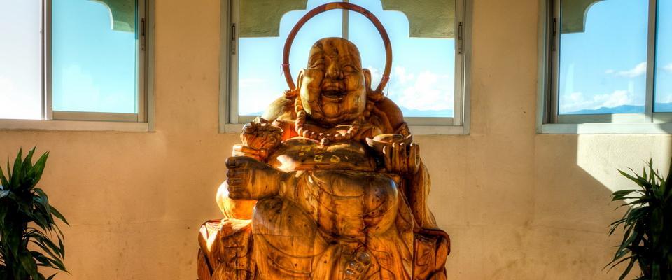 Inside Wat Huay Plakang