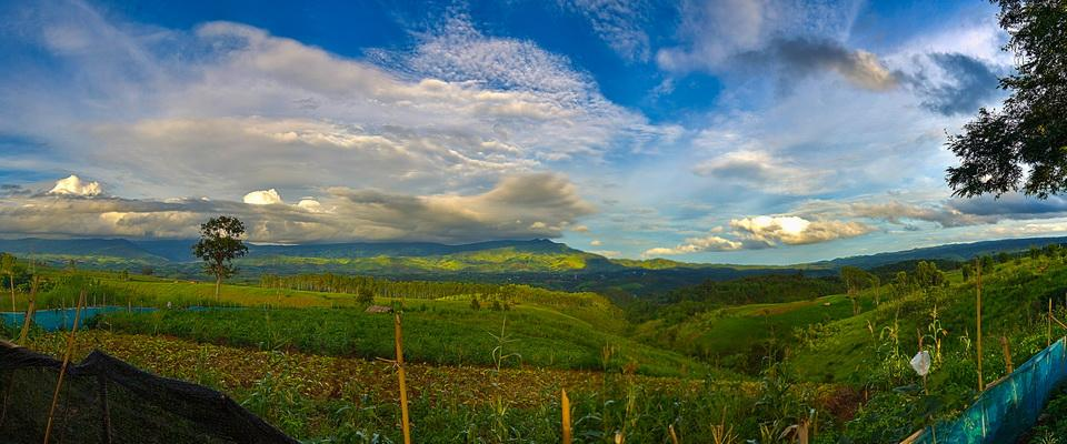 Just a view somewhere in Chiang Rai province