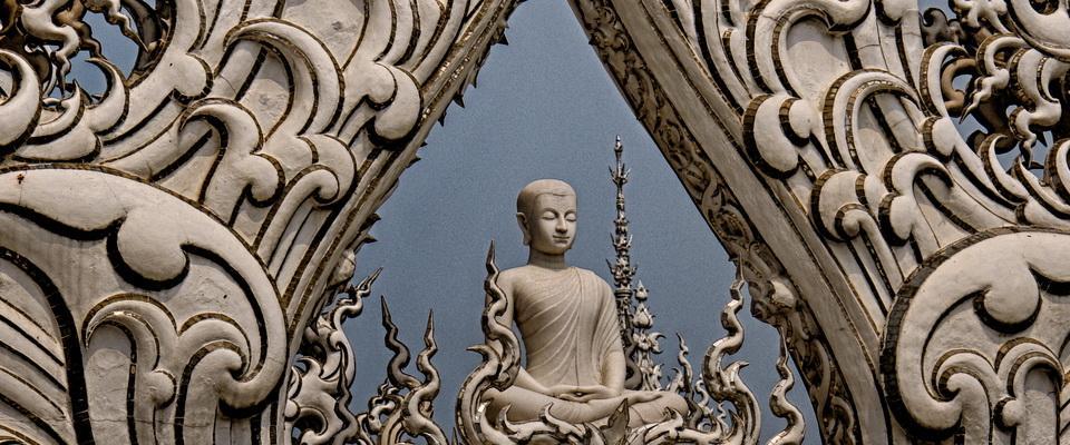 White Temple or Wat Rong Khun, Chiang Rai