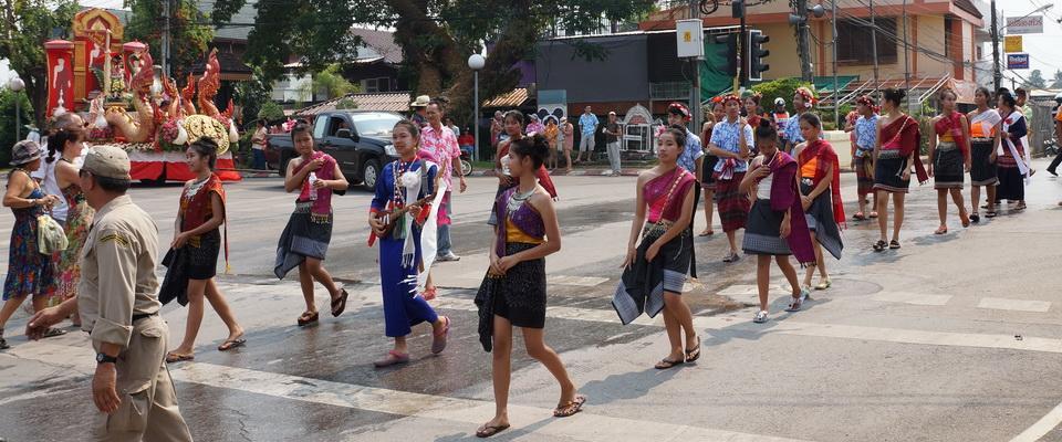 Song Kran, Thai New Year