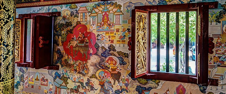 Inside Wat Phra Sing