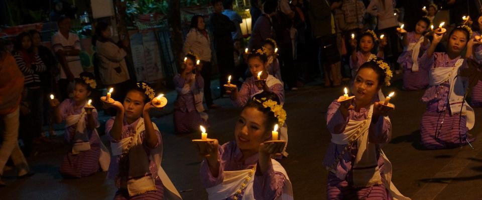 Walking Street Chiang Rai