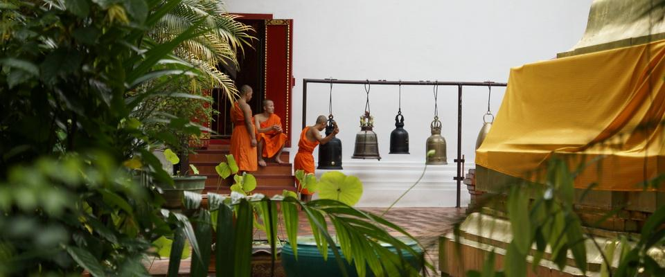 Novices at Wat Phra Kaeow