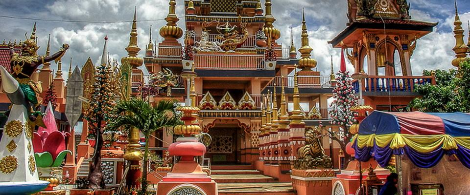Wat Sai Khao - special temple south of Chiang Rai