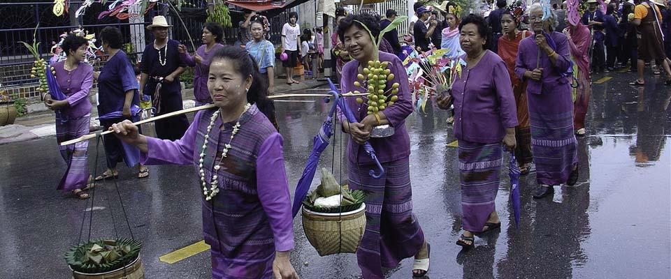 Parade at Song Kran
