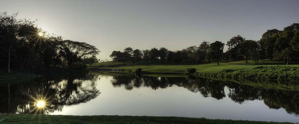 Santiburi, one of 3 tees for hole no 18