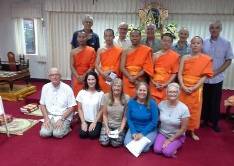 English-language Buddhist meeting Chiang Rai